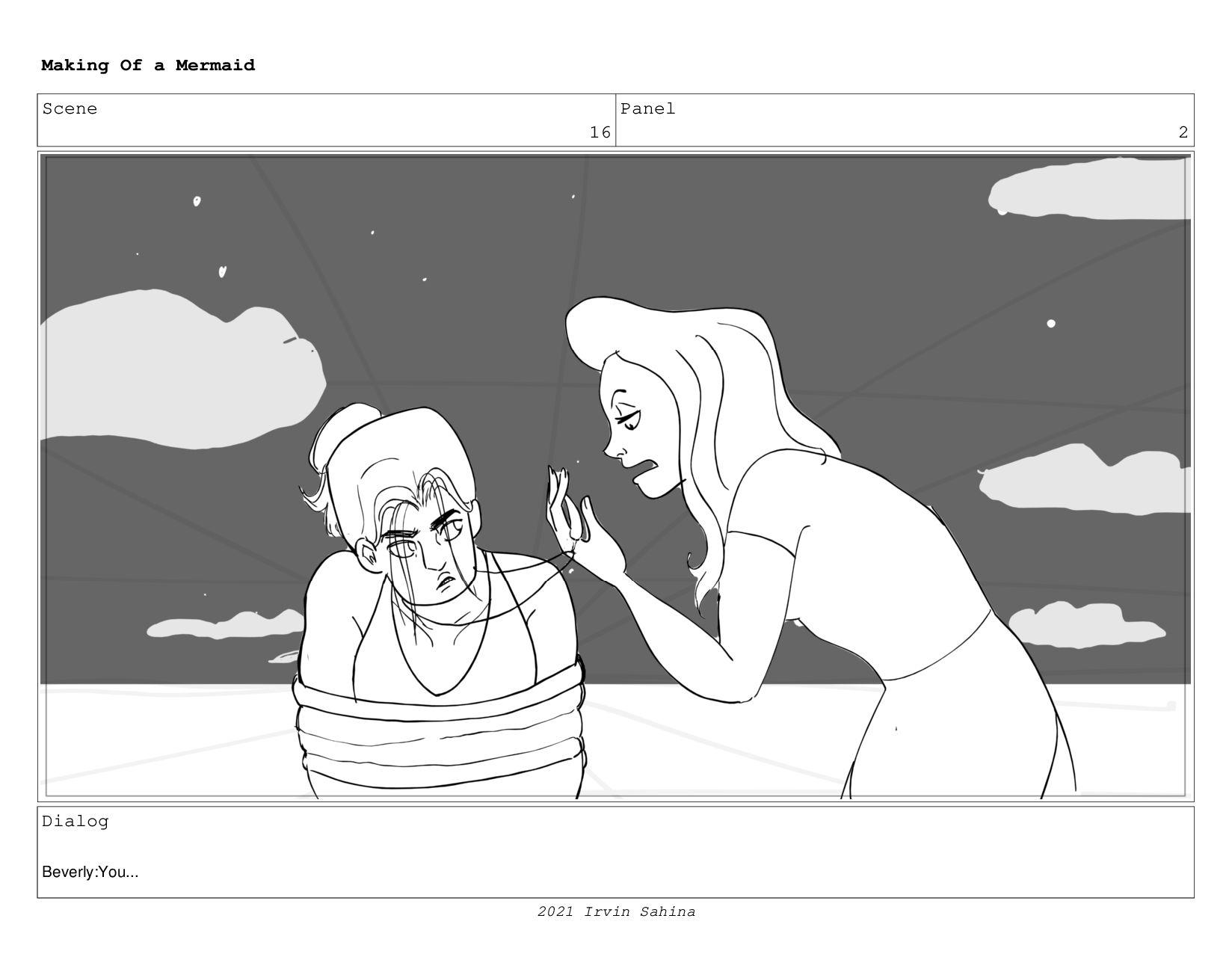 Scene 25 Panel 2 Making Of a Mermaid Updated 08...