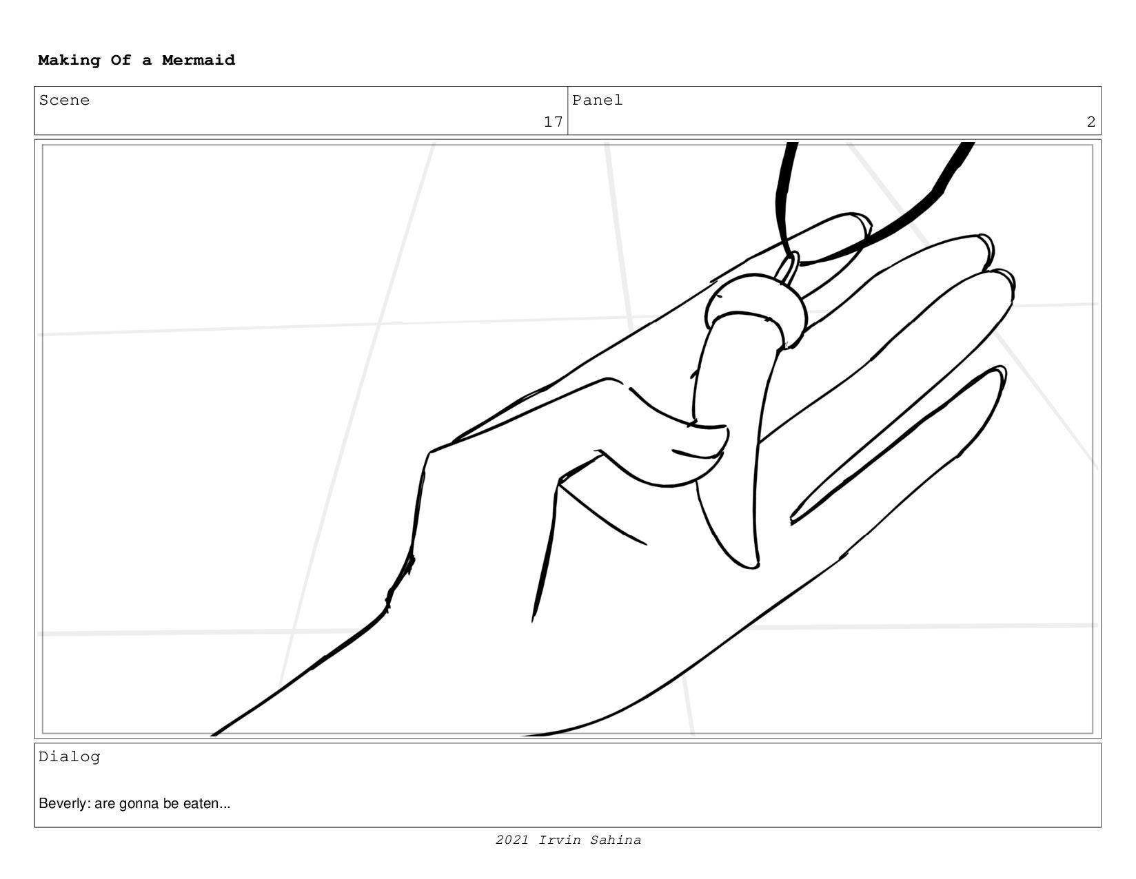 Scene 26 Panel 2 Making Of a Mermaid Updated 08...