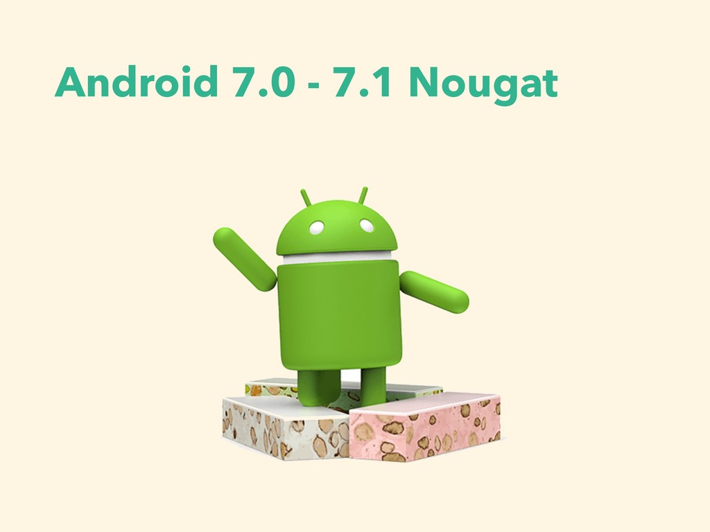 Android 7.0 - 7.1 Nougat