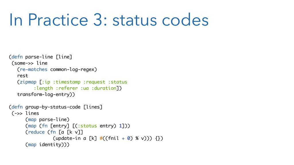 In Practice 3: status codes (defn parse-line [l...