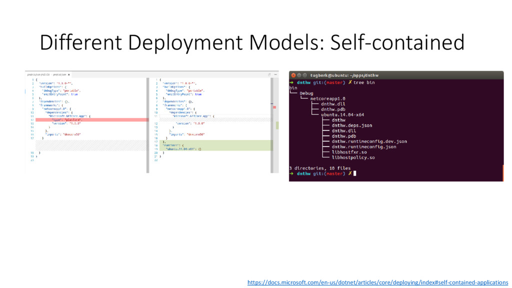 Different Deployment Models: Self-contained htt...