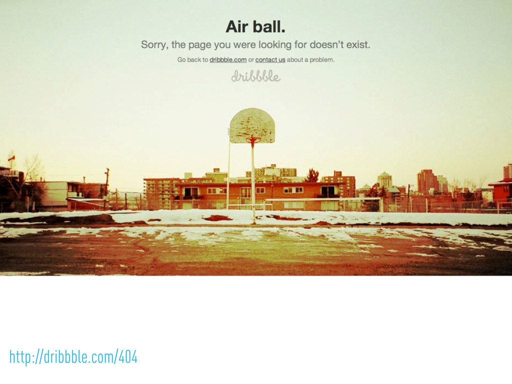 http://dribbble.com/404