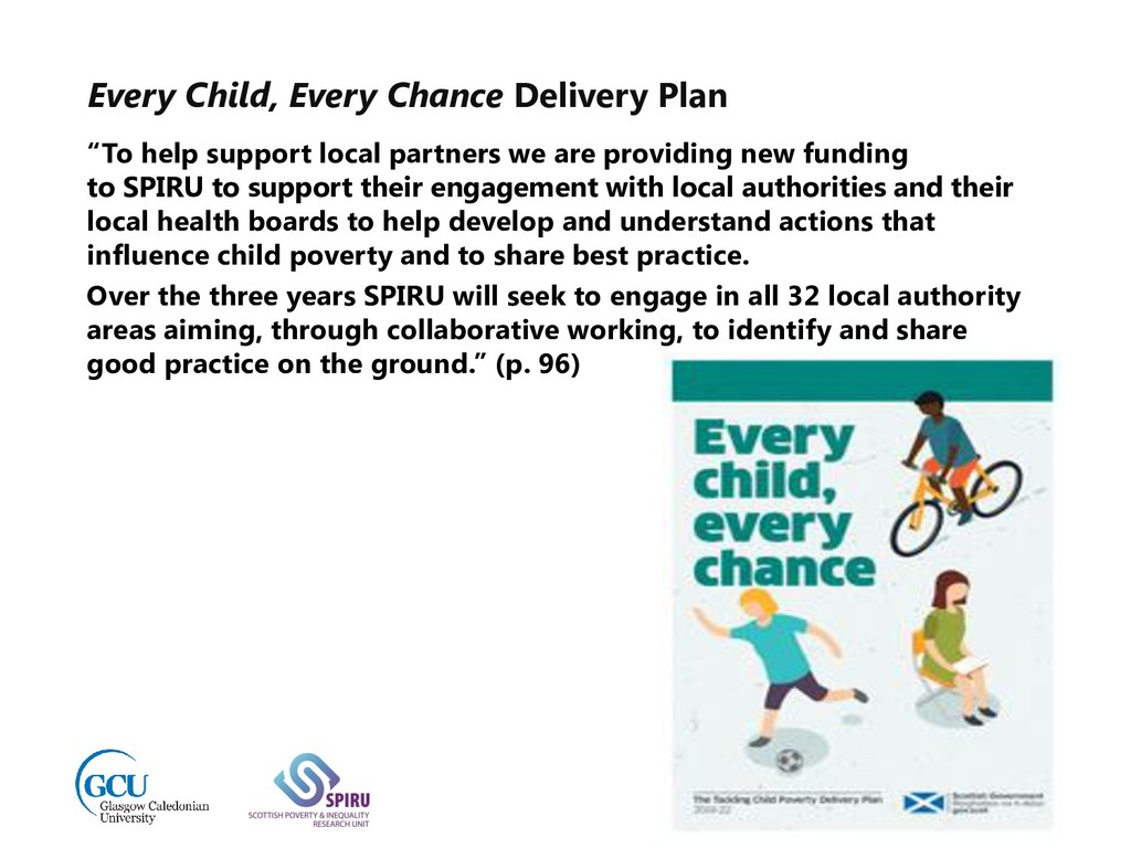 """Every Child, Every Chance Delivery Plan """"To hel..."""