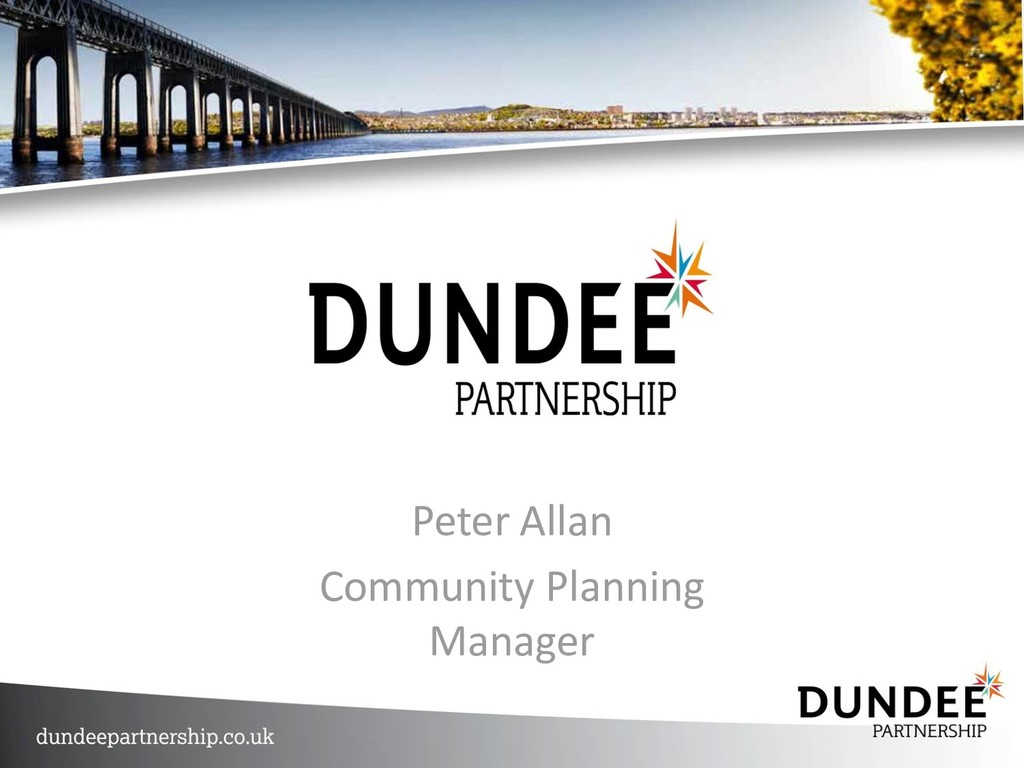 Peter Allan Community Planning Manager
