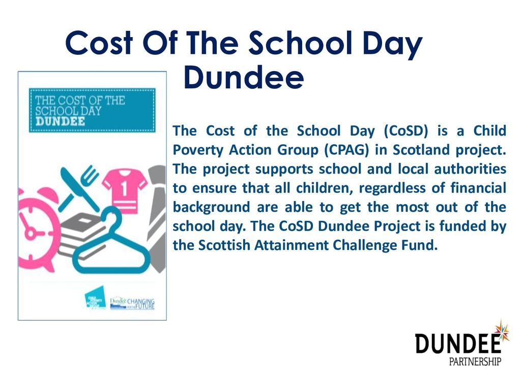 Cost Of The School Day Dundee The Cost of the S...