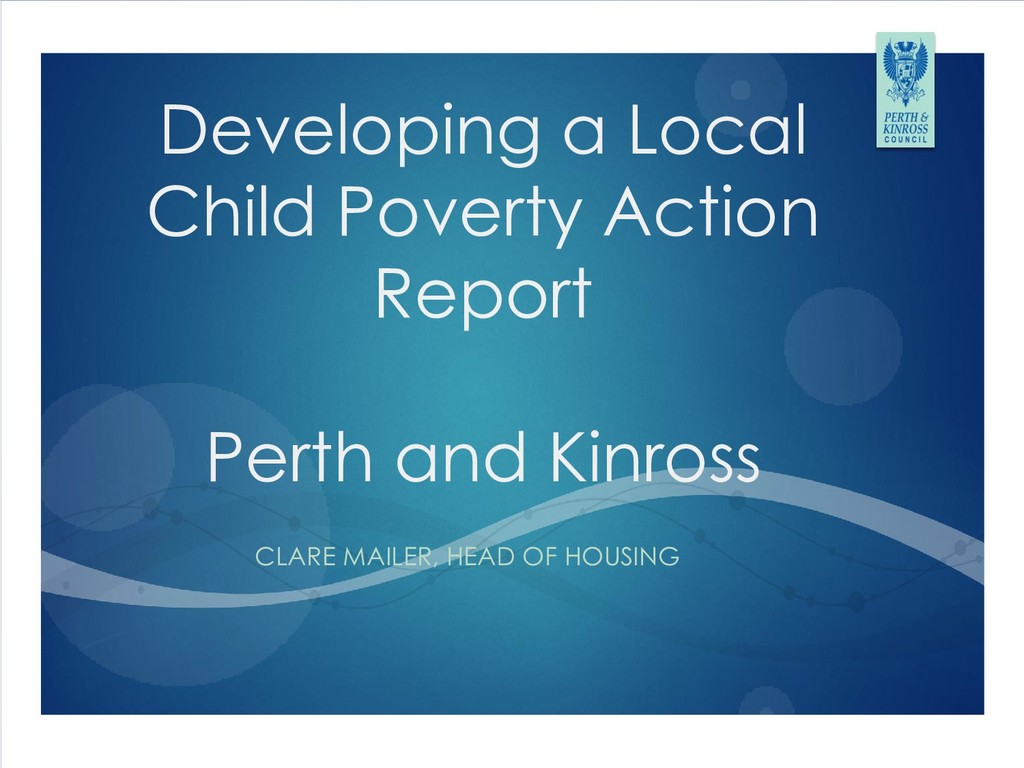 Developing a Local Child Poverty Action Report ...