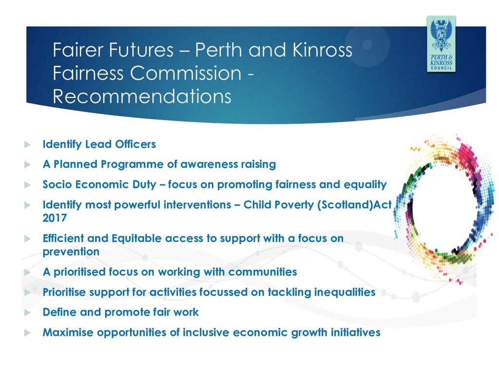Fairer Futures – Perth and Kinross Fairness Com...