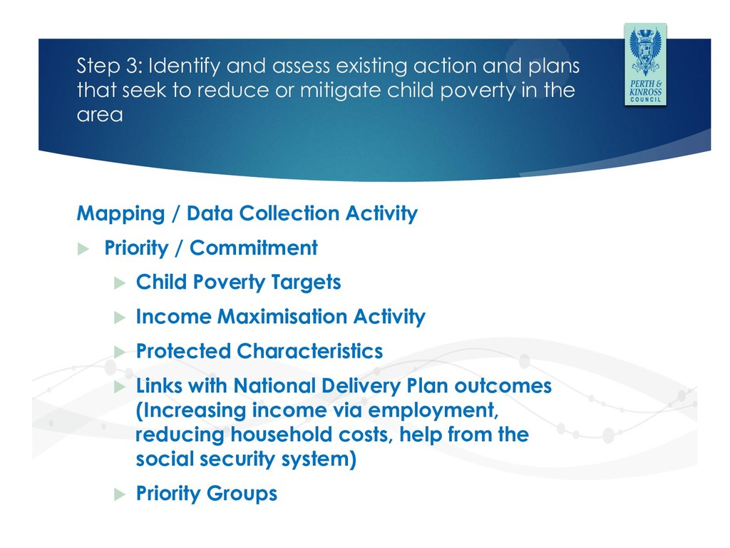Step 3: Identify and assess existing action and...