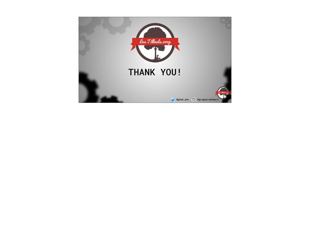 @gheb_dev @gregoirehebert THANK YOU!