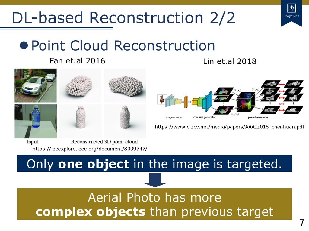7 Tokyo Tech DL-based Reconstruction 2/2 lPoint...