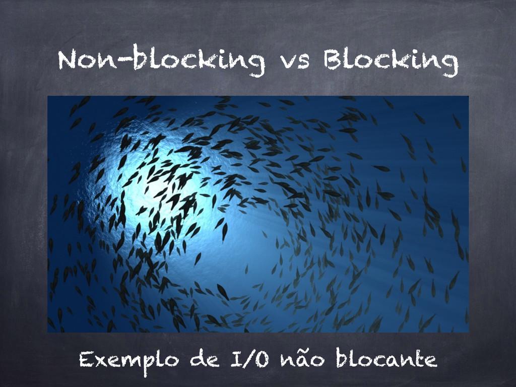 Non-blocking vs Blocking Exemplo de I/O não blo...
