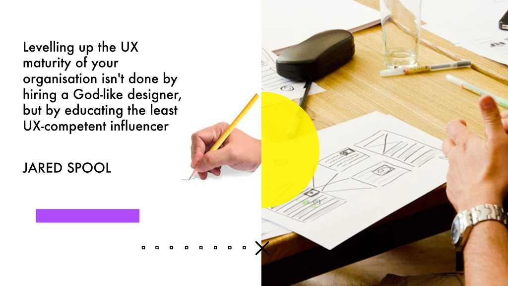 Levelling up the UX maturity of your organisati...