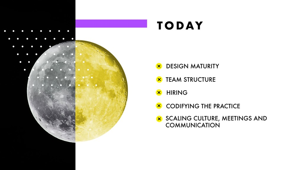 T O DAY DESIGN MATURITY CODIFYING THE PRACTICE ...
