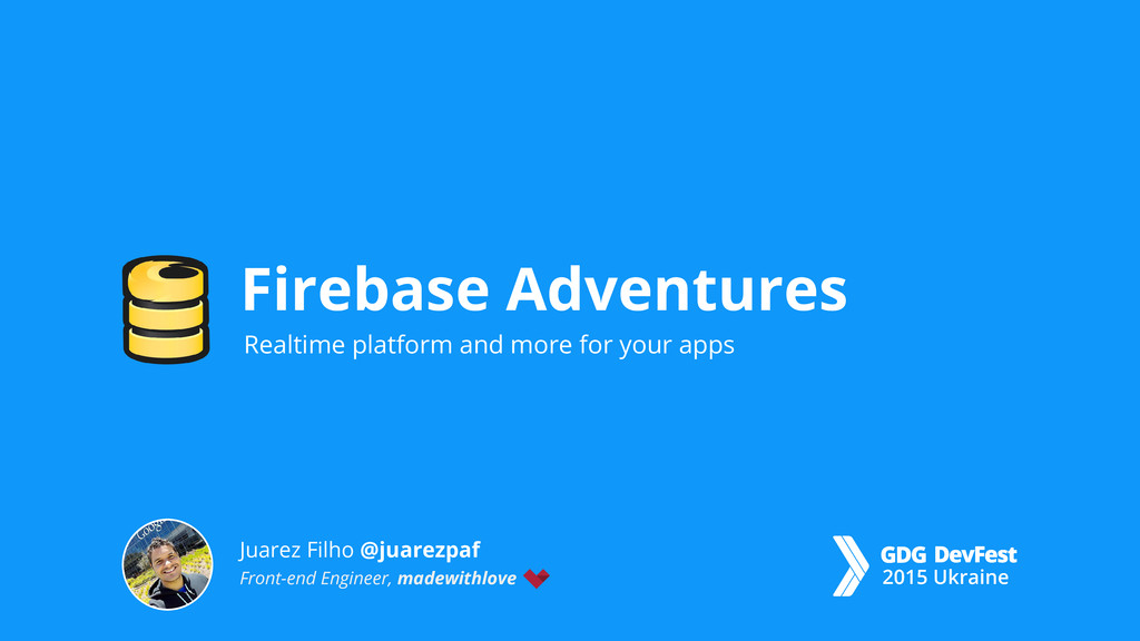 Realtime platform and more for your apps Fireba...