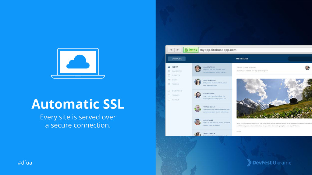#dfua Automatic SSL Every site is served over a...