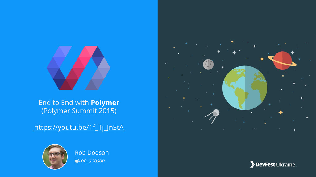 End to End with Polymer (Polymer Summit 2015) h...
