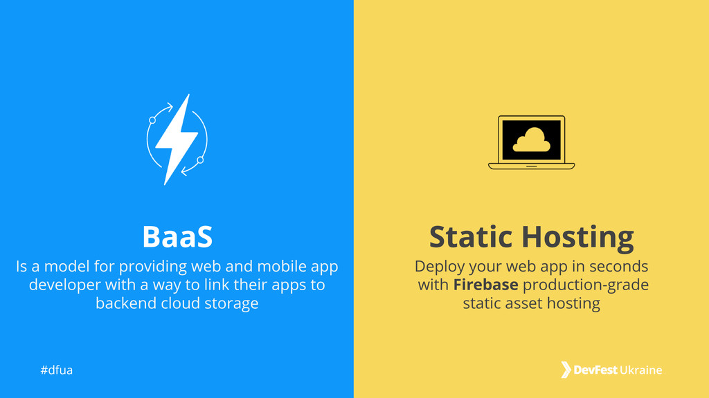 #dfua Static Hosting BaaS Deploy your web app i...