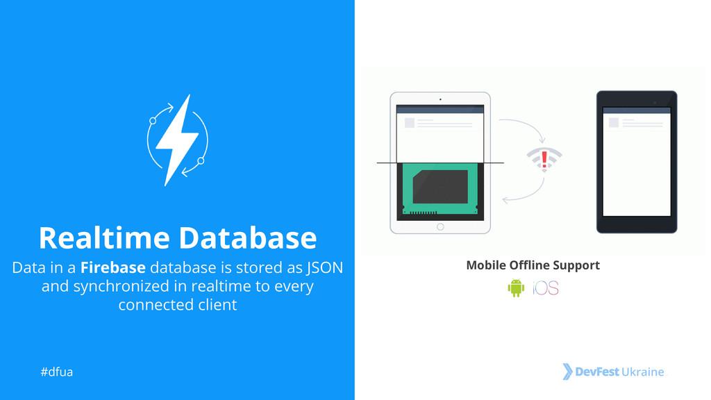 #dfua Realtime Database Data in a Firebase data...