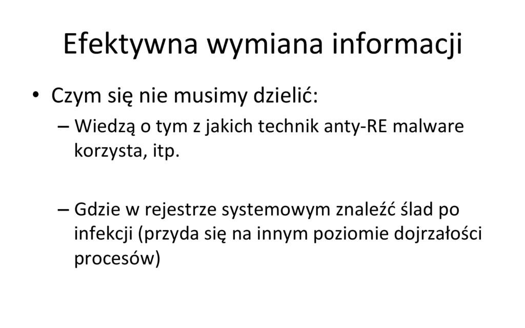 Efektywna wymiana informacji  • Czym...