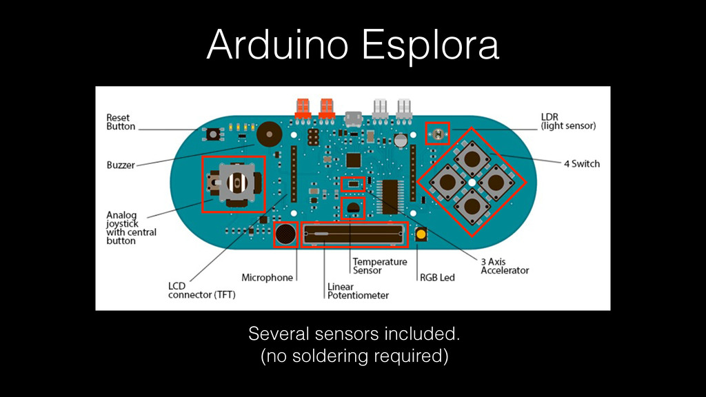 Arduino Esplora Several sensors included. (no s...