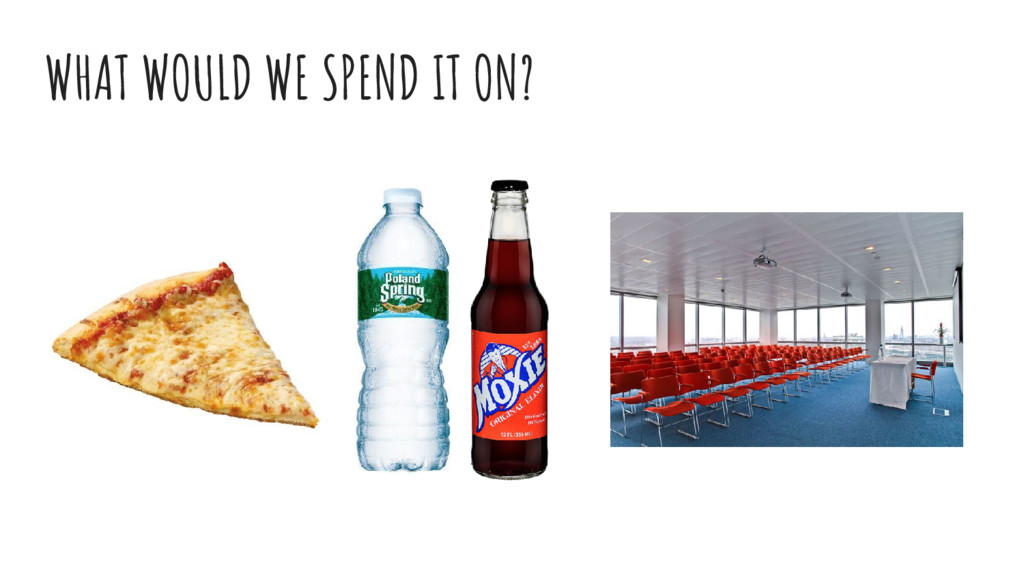 WHAT WOULD WE SPEND IT ON?