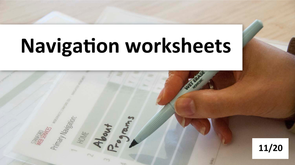 Naviga-on worksheets  11/20