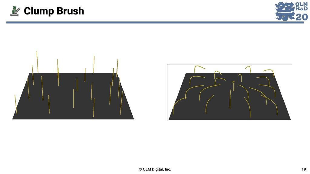 Clump Brush © OLM Digital, Inc. 19