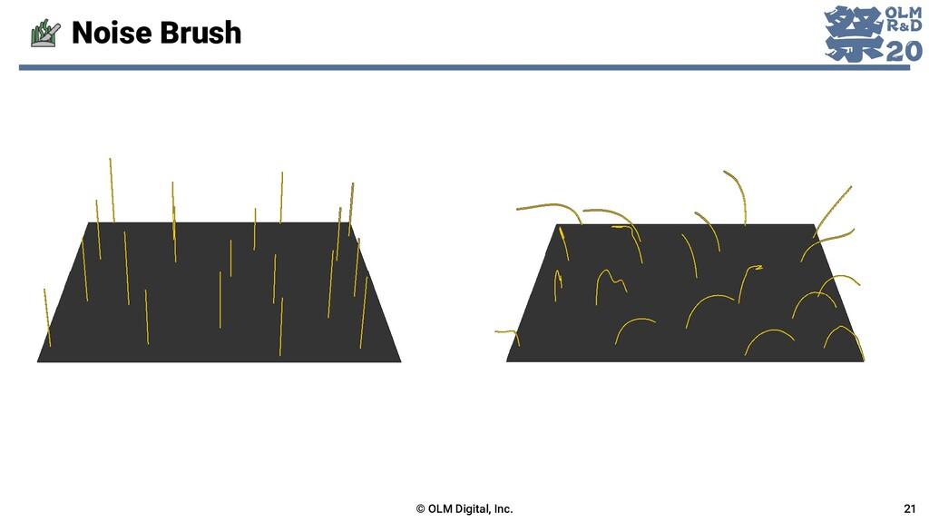 Noise Brush © OLM Digital, Inc. 21
