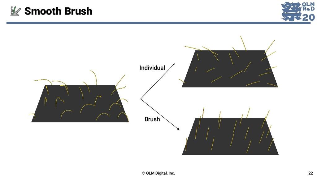 Smooth Brush © OLM Digital, Inc. 22 Individual ...