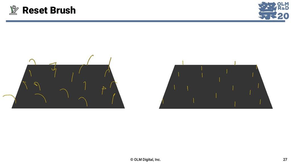 Reset Brush © OLM Digital, Inc. 27