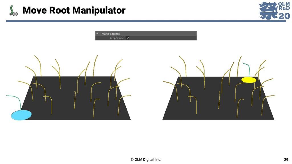 Move Root Manipulator © OLM Digital, Inc. 29
