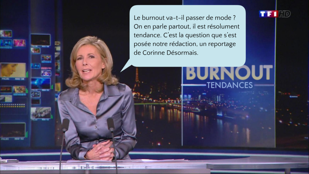 Le burnout va-t-il passer de mode ? On en parle...