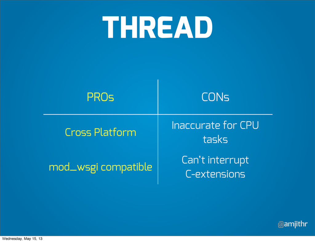 @amjithr PROs CONs Cross Platform Inaccurate fo...