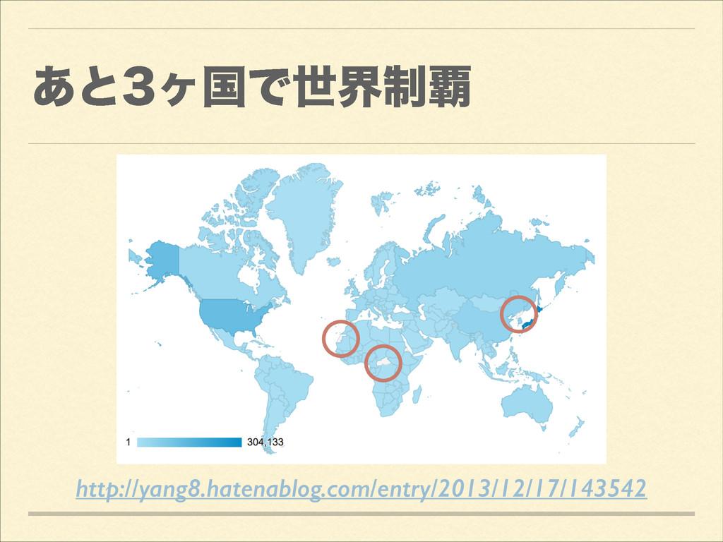 ͋ͱϲࠃͰੈք੍ http://yang8.hatenablog.com/entry/20...