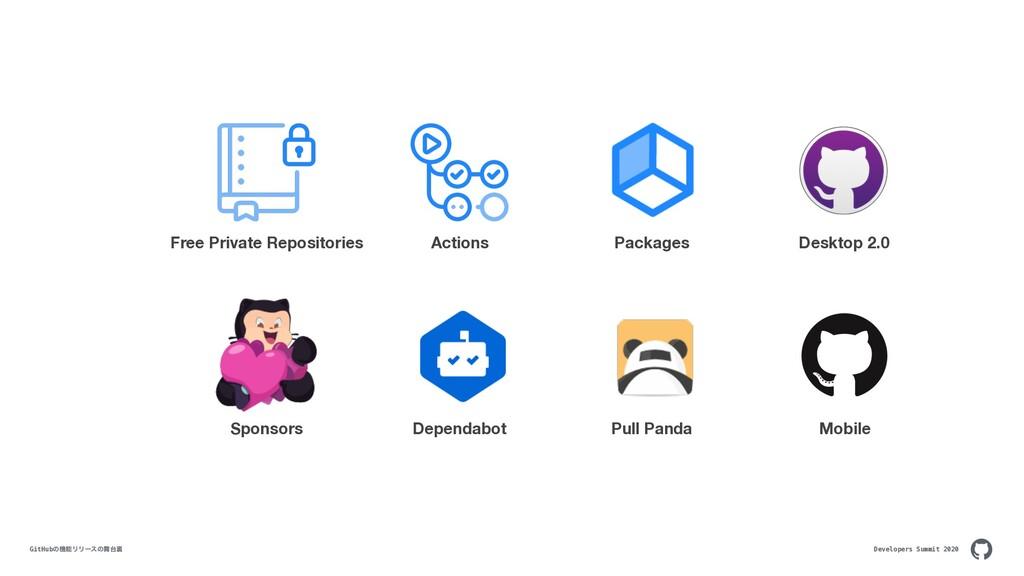 Developers Summit 2020 GitHubͷػϦϦʔεͷཪ Free P...
