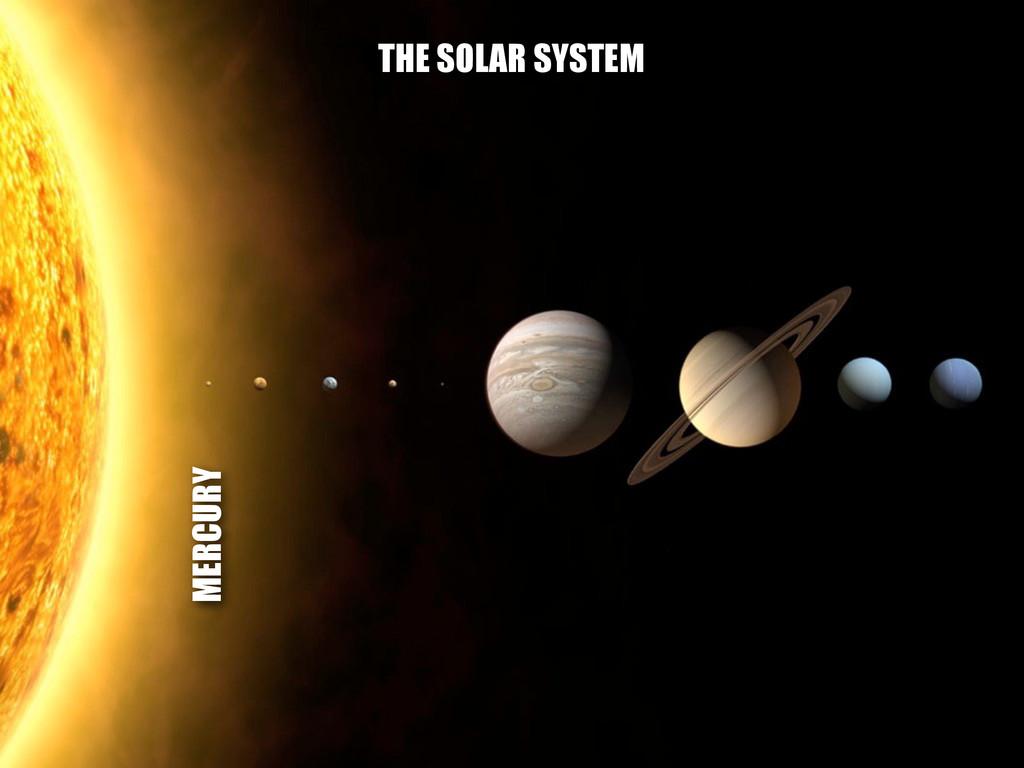 MERCURY THE SOLAR SYSTEM