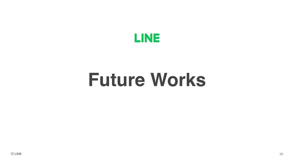 Future Works 30