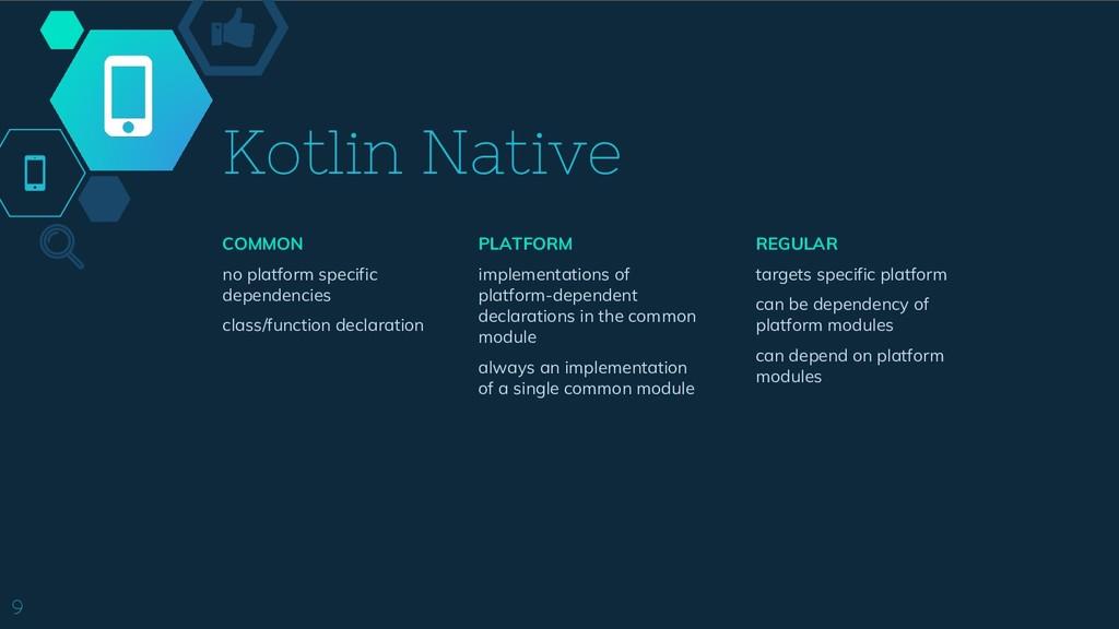 Kotlin Native COMMON no platform specific depen...