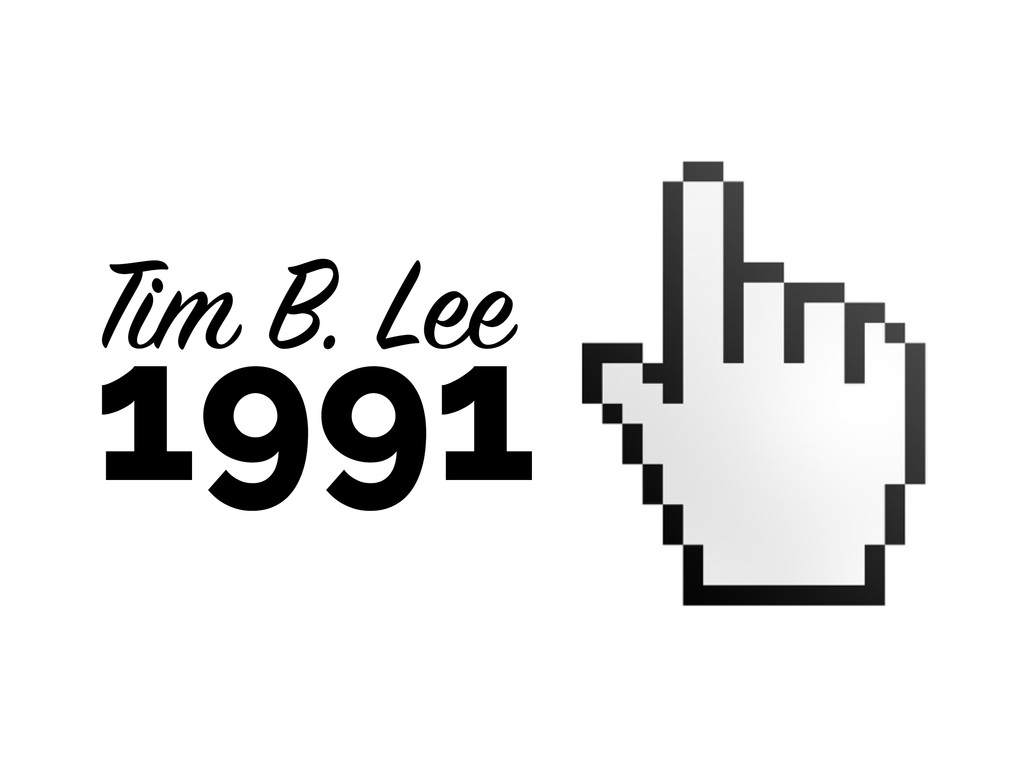 Tim B. Lee 1991