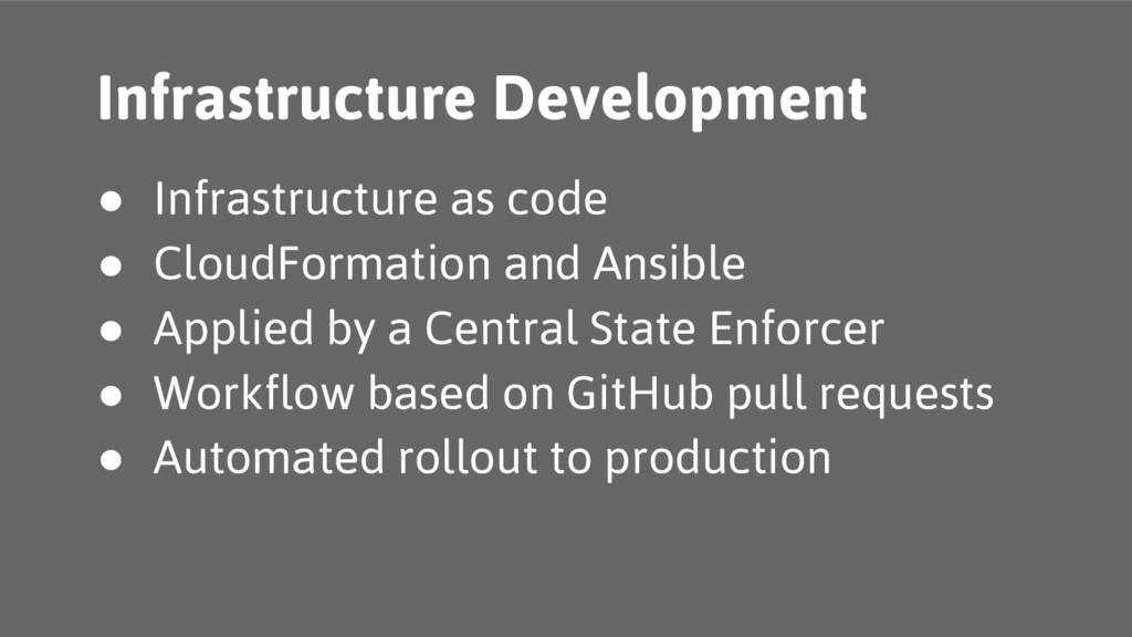 ● Infrastructure as code ● CloudFormation and A...
