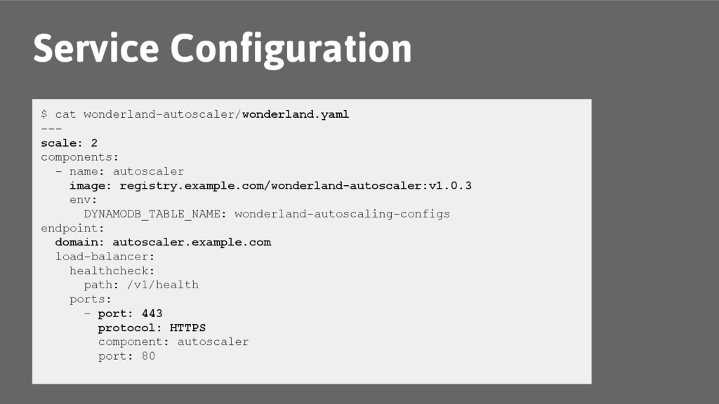 Service Configuration $ cat wonderland-autoscal...