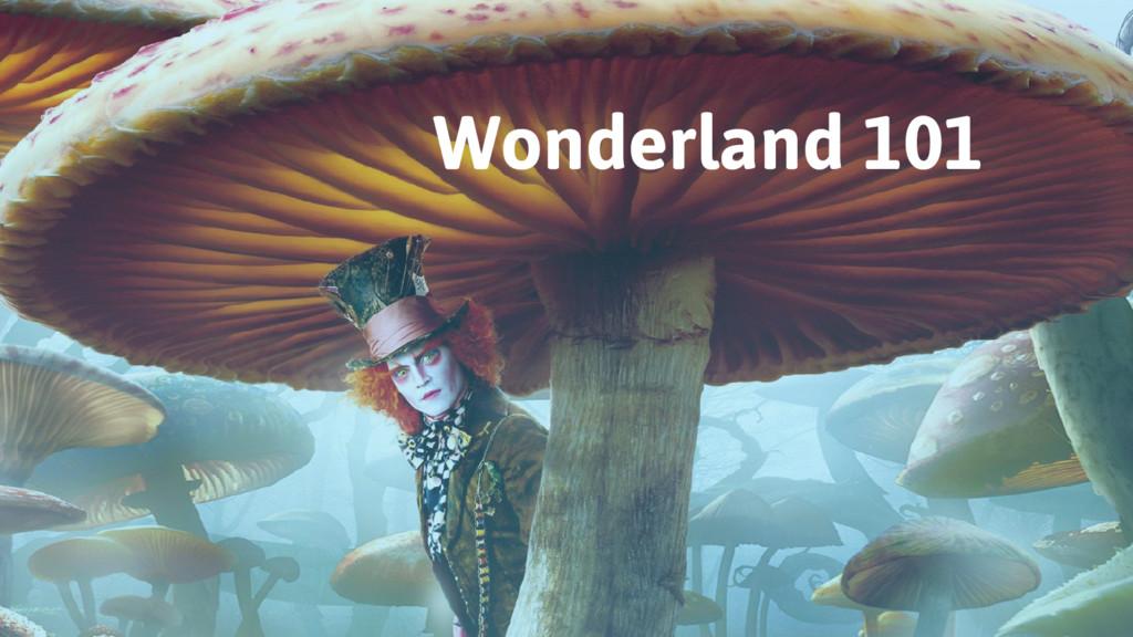 Wonderland 101