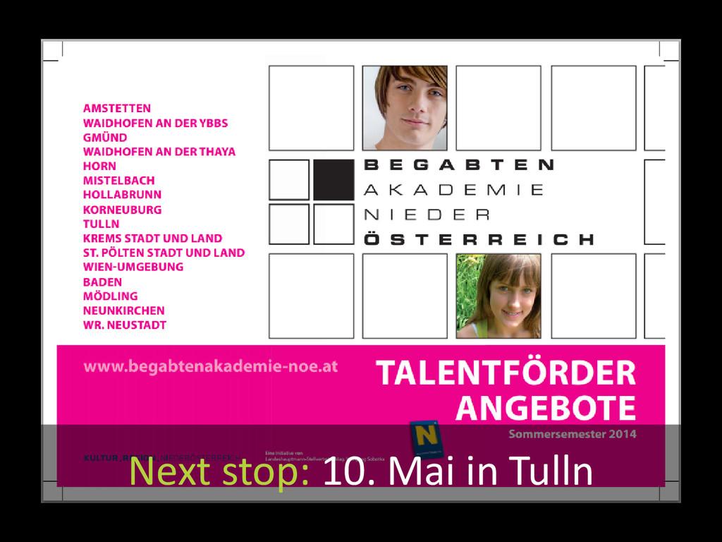 Source: Begabtenakademie Niederösterreich Next ...