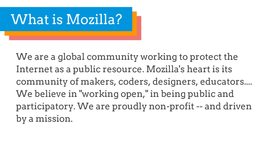 We are a global community working to protect th...