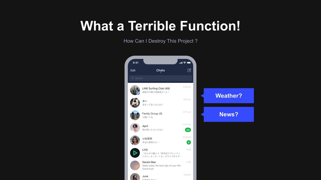 What a Terrible Function! How Can I Destroy Thi...