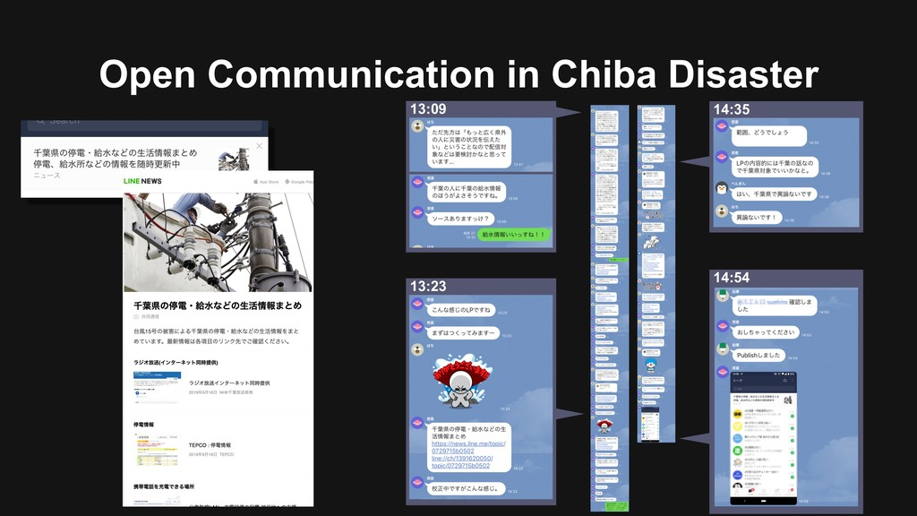 Open Communication in Chiba Disaster 13:23 13:0...