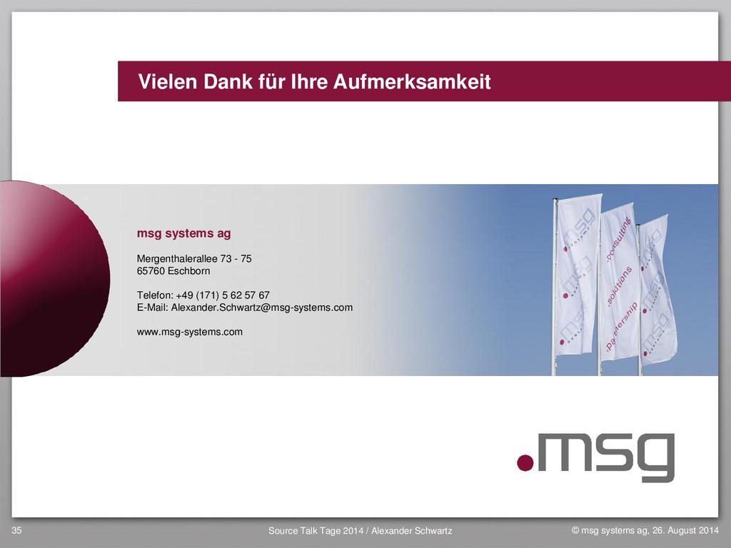 www.msg-systems.com Vielen Dank für Ihre Aufmer...