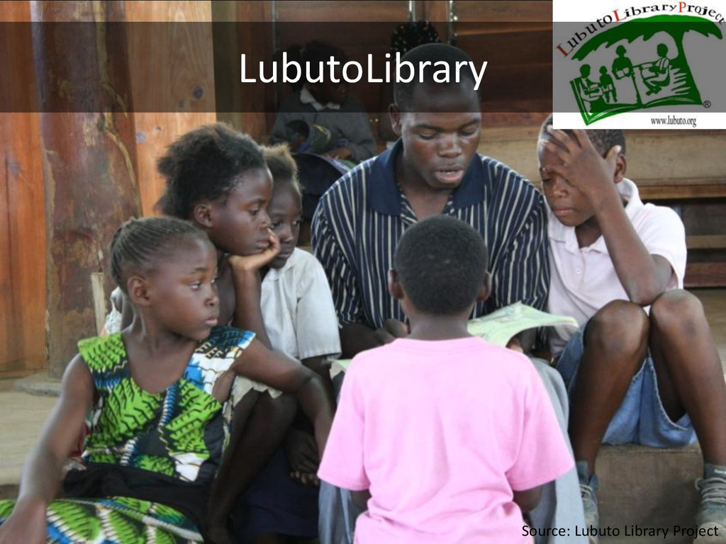 LubutoLibrary Source: Lubuto Library Project
