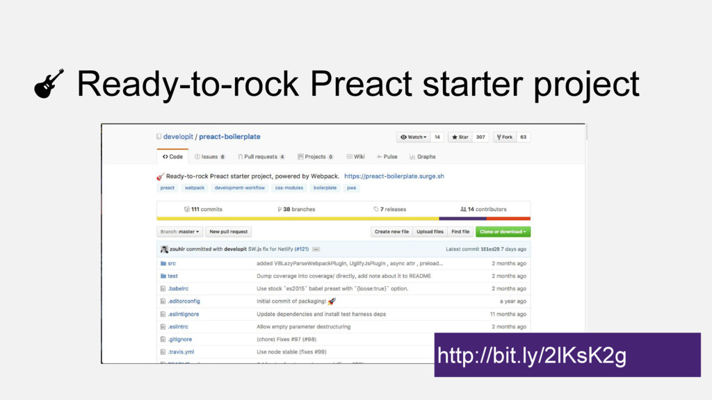 Ready-to-rock Preact starter project http://bit...