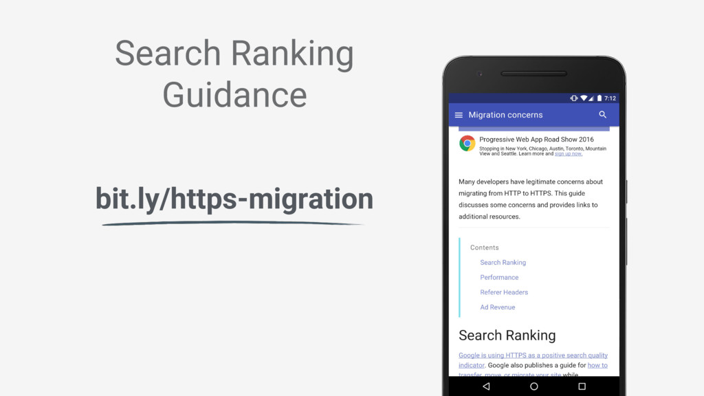 Search Ranking Guidance bit.ly/https-migration